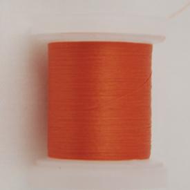H&H Euro Threads - 8/0 Orange-Hook & Hackle