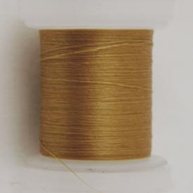 H&H Euro Threads - 12/0 Tan-Hook & Hackle